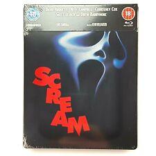 Scream Steelbook Blu-ray Ultra Ltd Edition 2000 Copies UK Zavvi Region B New