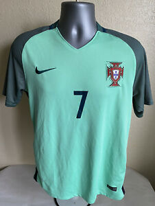 Nike 2016 Portugal National Fifa Jersey Away Cristiano Ronaldo #7 Men's M Rare