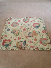 2 Vintage Genuine Sanderson Fabric Cushion Covers
