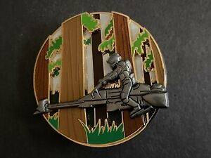 Star Wars Pin of the Month Endor Stormtrooper on Speeder 3D LE Disney Pin 120776