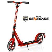 Hurtle HURTSRD Lightweight and Foldable Kick Scooter with High Impact Wheels