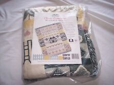 Turtle Creek Woven Throw Afghan Blanket ~ 48 x 60 ~ Country Sampler ~ New