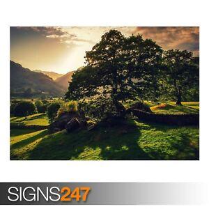 ENGLAND LANDSCAPE (AE052) NATURE POSTER - Photo Poster Print Art A0 A1 A2 A3 A4