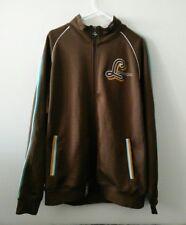 Lifted Research Group LRG Mens Colorway Kings Jacket Full Zip Brown XL