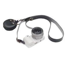 Strong SLR DSLR Camera Shoulder Strap Neck Belt with Battery SD Card Case Black
