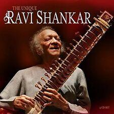 RAVI SHANKAR - UNIQUE RAVI SHANKAR 4 CD NEU