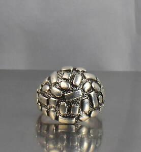 CrazieM Sterling 925 Silver Vintage Southwest Estate Ring Size 8.75 9.5g x28