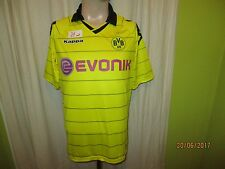 """Borussia Dortmund KAPPA ORIGINALE maestro MAGLIA 2011/12 """"Evonik"""" Taglia M Top"""