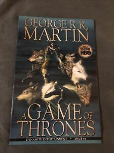 Game of Thrones #1 (2011) Alex Ross Cover Dynamite Comic Book VF