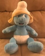 "Smurfette Build-A-Bear Plush Doll The Smurfs 16"" Stuffed Animal Toy 2011"