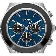 DKNY MEN'S CHRONOGRAPH LUXURY BLUE DIAL COLLECTION WATCH NY1512
