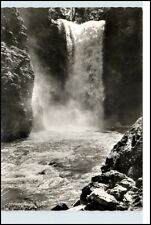 REUTE Tirol Österreich 1970 s/w AK Plansee Stubenfall Wasserfall Waterfall