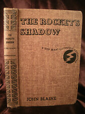 THE ROCKETS SHADOW A RICK BRANT ELECTRONIC ADVENTURE Blaine HC 1947c Mystery