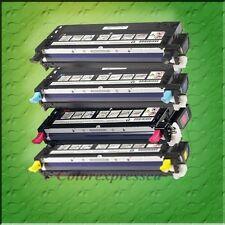 4 HIGH YIELD LASER COLOR TONER SET FOR LEXMARK X560DN