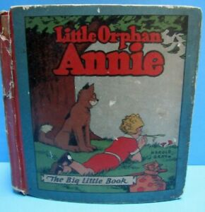 VINTAGE 1933 LITTLE ORPHAN ANNIE THE BETTER LITTLE BOOK ~ VERY NICE CONDITION