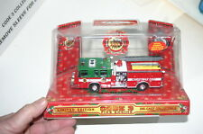 1/64 CODE 3 1998 FIRST CHRISTMAS SPECIAL EDITION PIERCE QUANTUM PUMPER GRN & RED