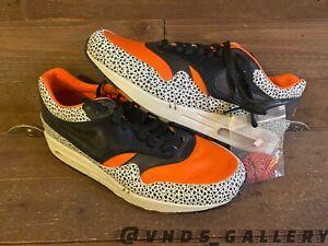 Nike Air Max 1 Supreme QK Keep Rippin Stop Slippin Safari 332326 801 Sz 9.5 Mens