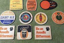 10 Vintage Ansells Beer Mats