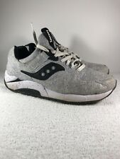 Saucony Shadow Mens Running Shoes Size 9 Black/Gray 60687 07/16 Cloth Nylon