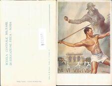 MILITARE ACCADEMIA-ROMA-EDUCAZIONE FISICA-VB2-LL01708