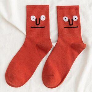 Unisex Kawaii Socks Pair Colorful Funny Men Women Cotton Cute Size 35-42 Kids
