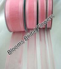 Nœuds, rubans et ficelles roses sans marque pour emballage et paquet cadeau