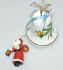 Original Käthe Wohlfahrt Glocke mit Weihnachtsmann zum Aufhängen Fach E3