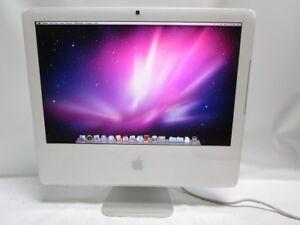 "Apple iMac 20"" A1207 EMC2118 MA589LL Core 2 Duo 2.16GHz, 4GB RAM, 250GB HD, 10.6"