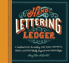 Hand-Lettering Ledger (2014, Record Book)