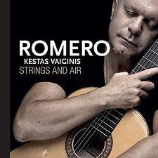 NEW! Strings and Air by Hernan Romero / Kestas Vaiginis DIGIPAK