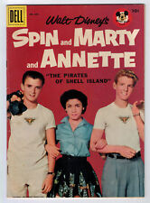 FOUR COLOR #826 4.0 SPIN AND MARTY AND ANNETTE PHOTO 1957 DELL WHITE PAGES