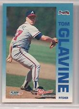 "1992 Fleer ""The Performer"" Collection Tom Glavine"
