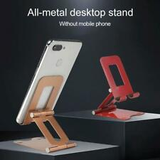 Universal Cell Phone Tablet Switch Stand Aluminum Desk Table Holder Cradle Dock