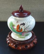 antik China Porzellan chinesische Deckel Vase Topf porcelain republic period