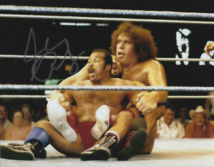 Johnny Rodz Signed Autographed 8x10 Photo - w/COA - WWE HOF w/Andre The Giant
