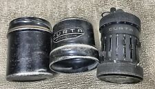 Curta Type I(Type II) mechanical calculator distance gauges for the German army