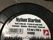 Oregon Nylium 3 0mm 240m Alu Mähfaden Trimmerfaden Freischneider Motorsensefaden