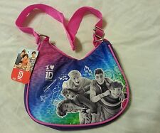 One Direction Girls Purse Tote Bag Handbag Pink Purple 1D