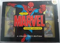Classic Marvel Super Heroes - A Collector's Edition - 4 Heroes Plus a Book B&N