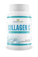 Collagen C Hydrolysed Grass Fed Bovine Collagen Peptides (Type 1) 60 Capsules