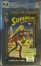 CERTIFIED CGC 9.4 DC SUPERGIRL IN ACTION COMICS #686 (1993) FUNERAL FOR FRIEND6