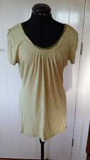 Lovely Boo Radley light green blouse Size M