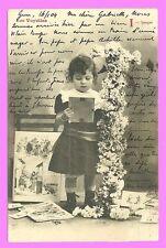 carte postale Bergeret - Les Voyelles - I