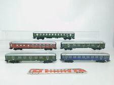 BK238-2# 5x Märklin H0/AC Bastler-Personenwagen etc: 36 201 DSG+A4ümg DB etc