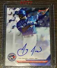 ANTHONY ALFORD RC AUTO 2016 BOWMAN'S BEST BEST OF '16 AUTOGRAPH CARD # B16-AA