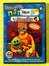 Welcome To Nanalan' Favorites ~ New DVD ~ Nickelodeon Kids Show Sealed Video