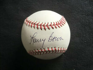 LARRY BOWA SIGNED AUTOGRAPHED MLB OFFICIAL BASEBALL