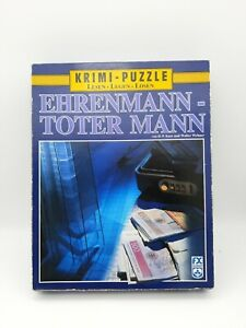 500 Pieces Crime Puzzle - Ehrenmann - Blind Man - Karr & Wehner - FX SCHMID