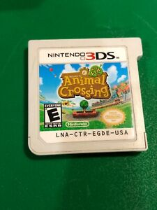 Animal Crossing New Leaf (Nintendo 3DS, 2013) Authentic - Cartridge Only
