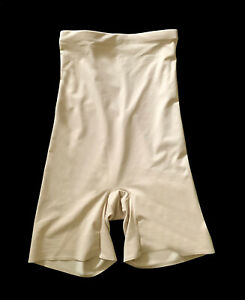 Cupid, Beige High Waist Body Slimming Shaping Shorts, size L